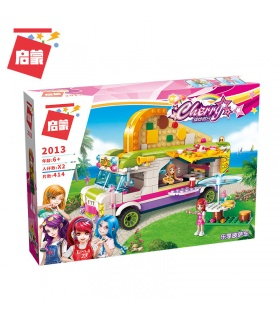 ENLIGHTEN 2013 Joy Pizza Car Building Blocks Set