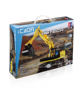 Double Eagle CaDA C51057 Remote Control Excavator Building Blocks Set