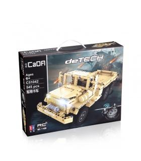 Doble Águila De CaDA C51042 Camión Militar Conjunto De Bloques De Construcción