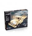 ダブルイーグルCaDA C51042軍用トラックブロック玩具セット