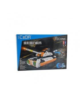 Doble Águila De CaDA C52008 Whorled Tanque De La Construcción De Bloques