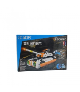 Double Eagle CaDA C52008 Whorled Tank Building Blocks Set