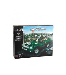 Двойной Орел Када C51015 Парад Автомобилей Строительные Блоки Комплект
