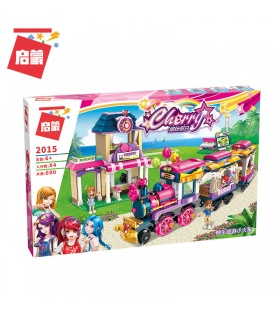ENLIGHTEN 2015 Happy Little Train Building Blocks Set