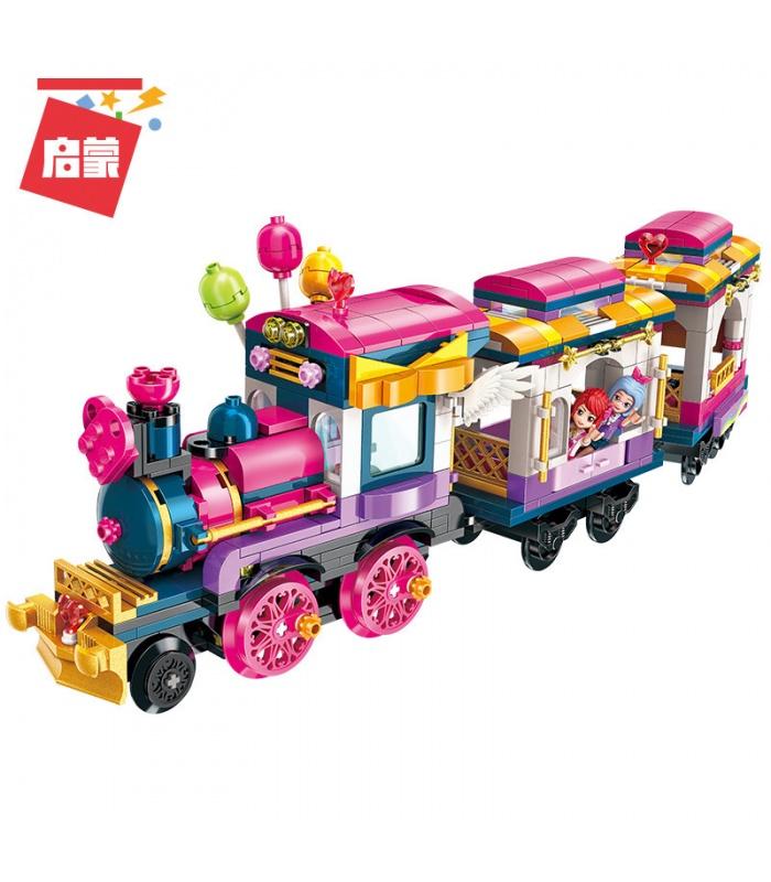 Просветите 2015 счастливые Маленький поезд строительные блоки комплект