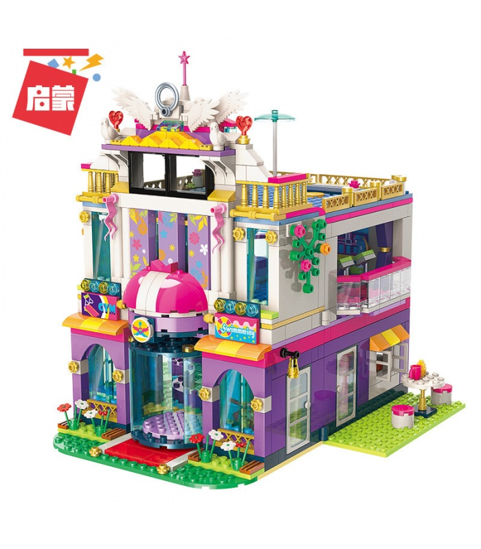 ENLIGHTEN 2017 Holiday Villa Building Blocks Set