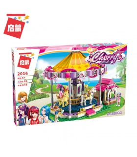 ENLIGHTEN 2016 Fantasy Carousel Building Blocks Set