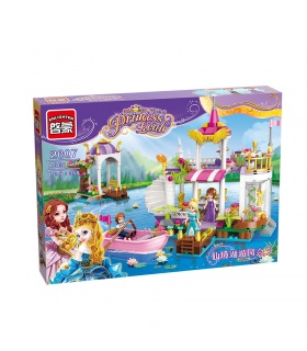 ENLIGHTEN 2607 Lakeside Party Building Blocks Set