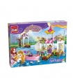 ENLIGHTEN 2607 Lakeside Party Building Blocks Toy Set