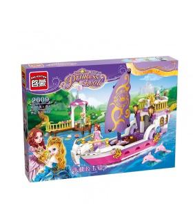 ILUMINAR 2609 Ángel de la Princesa de la Construcción de Barcos Bloques