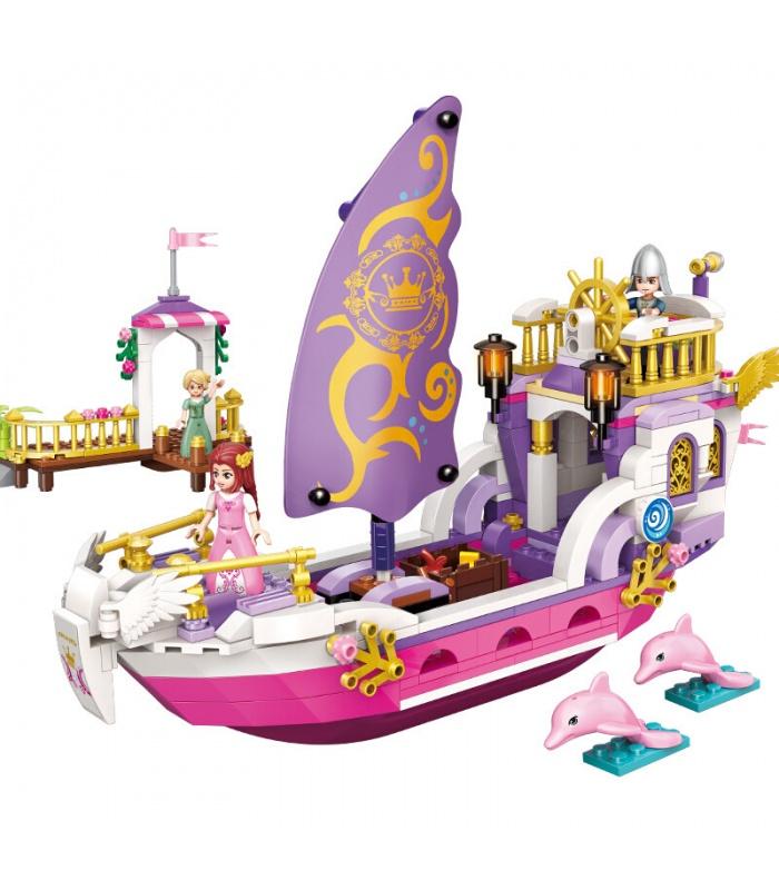 ÉCLAIRER 2609 Ange Princesse Navire Blocs de Construction Ensemble