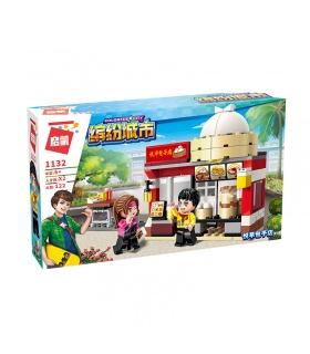 AUFKLÄREN 1132 Golden Baozi-Shop Bausteine-Set