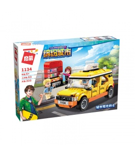 ENLIGHTEN 1134 Sightseeing Taxi Building Blocks Set