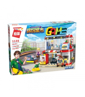 ENLIGHTEN 1135 Cool Play Room Building Blocks Set
