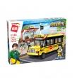 Просветите 1136 назидать школьный автобус строительные блоки игрушка комплект