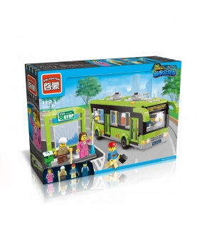 ENLIGHTEN 1121 City Buses Building Blocks Set