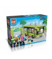 Просветите 1121 городские автобусы строительные блоки игрушка комплект