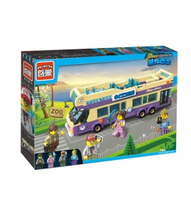 ENLIGHTEN 1123 Sightseeing Bus Building Blocks Set