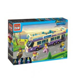 ILUMINAR 1123 Autobús turístico de la Construcción de Bloques