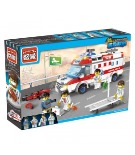 ENLIGHTEN 1118 Emergency Treatment Building Blocks Set