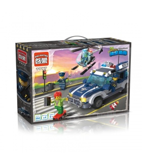 ENLIGHTEN 1117 Highway Pursuit Building Blocks Set