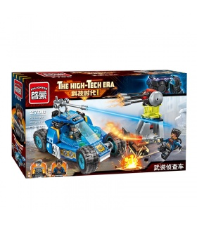ENLIGHTEN 2706 Scout Car Building Blocks Set