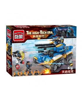 ENLIGHTEN 2713 Apocalypse Tank Building Blocks Set