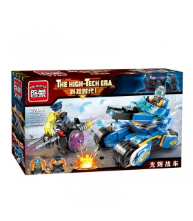ENLIGHTEN 2705 Shining Chariot Building Blocks Set