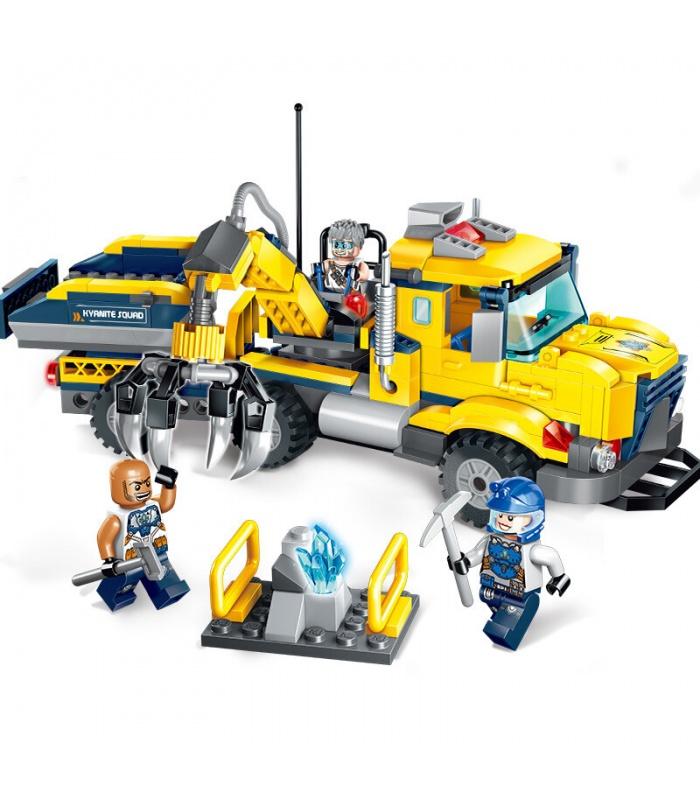 ÉCLAIRER 2407 Cyanite Transporter les Blocs de Construction Ensemble