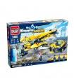 ENLIGHTEN 2408 Heavy Lift Aircraft Building Blocks Toy Set