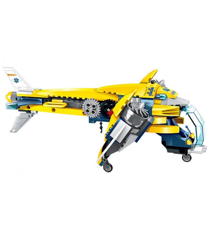 ÉCLAIRER 2408 Lourds, Avions Blocs de Construction Ensemble