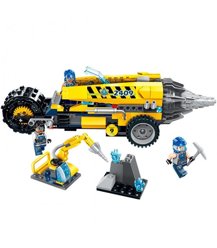 ENLIGHTEN 2409 Driller Platform Building Blocks Set