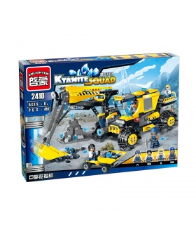 ENLIGHTEN 2410 Excavator Building Blocks Set