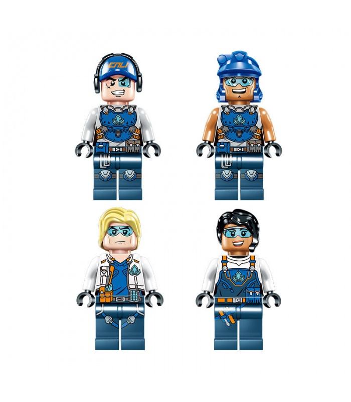 ENLIGHTEN 2410 Excavator Building Blocks Set