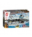 ENLIGHTEN 1724 Enterprise Aircraft Carrier Building Blocks Toy Set