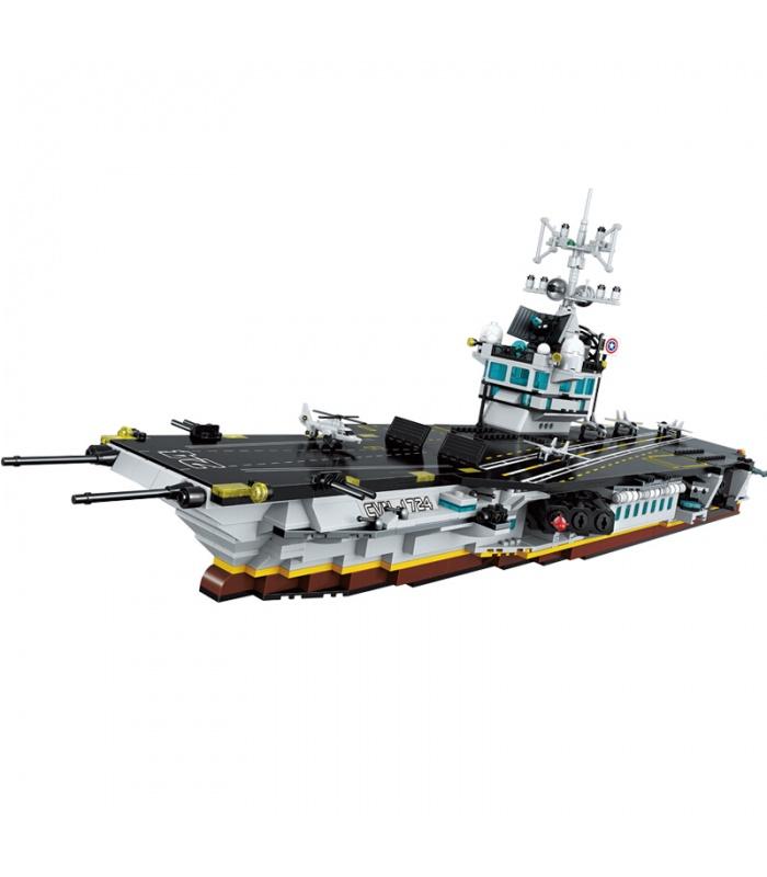 ÉCLAIRER 1724 Entreprise porte-Avions Blocs de Construction Ensemble