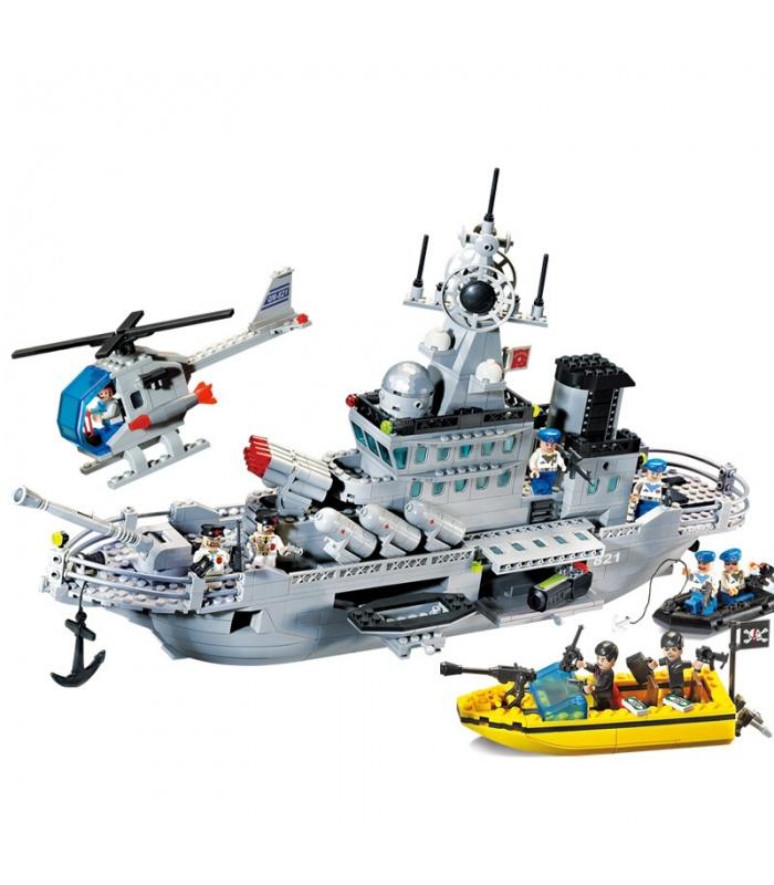 ÉCLAIRER 821 Missile Cruiser Blocs de Construction Ensemble