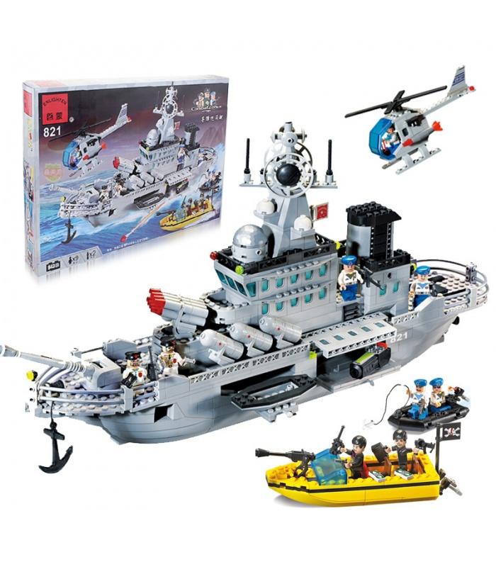 Просветить 821 ракетный крейсер строительные блоки комплект