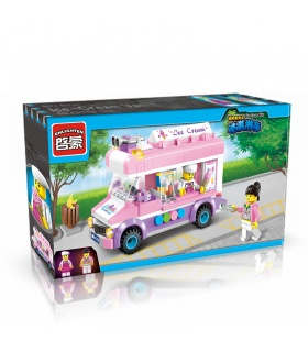 ENLIGHTEN 1112 Ice-Cream Van Building Blocks Set