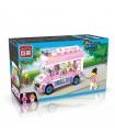 ENLIGHTEN 1112 Ice-Cream Van Building Blocks Toy Set
