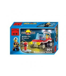 ENLIGHTEN 901 Maintenance Vehicle Building Blocks Set