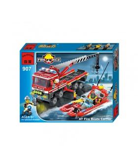 Просветите 907 в огонь лодки строительных несущих блоков набор