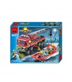 ENLIGHTEN 907 AT Fire Boats Carrier Building Blocks Toy Set
