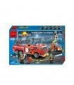 Просветите 908 масштабирование лестницы пожарные машины строительные блоки игрушка комплект