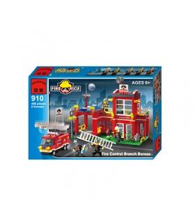 Просветите 910 пожарный управления филиала Бюро строительных блоков набор