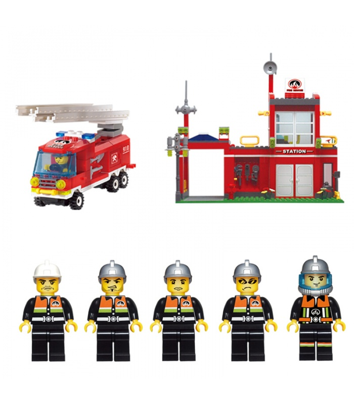 ENLIGHTEN 910 Fire Control Branch Bureau Building Blocks Set
