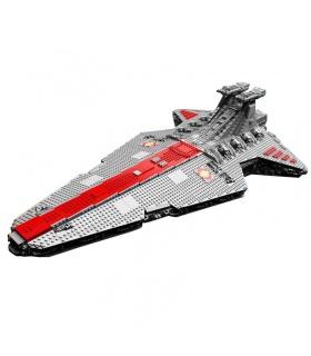 カスタムMOC UCS共和国クルーザー対応のブ玩具セット6125個