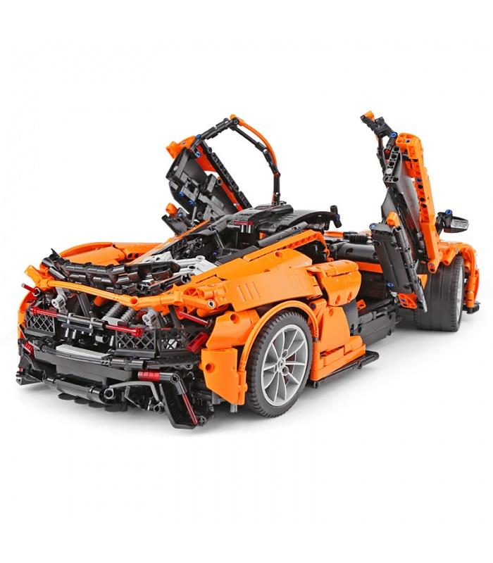 Benutzerdefinierte McLaren P1 MOC Sportwagen-Kompatible Bausteine Spielzeug-Set