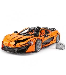 Personalizado McLaren P1 MOC Coche Deportivo Compatible con los Ladrillos del Edificio Conjunto de Juguete