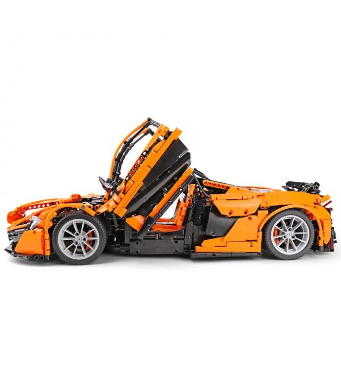 Custom McLaren P1 MOC Sports Car Compatible Building Bricks Set